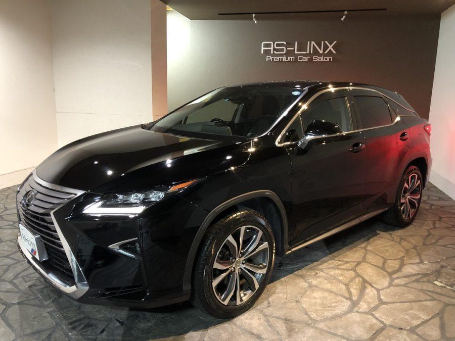 AS-LINX 新規ご契約車輌・LEXUS RX200T バージョンL