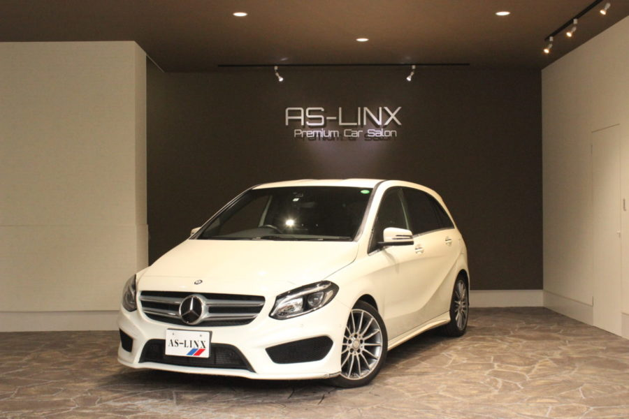 AS-LINX 新入庫車輌のご紹介 MercedesBenz B180 スポーツ
