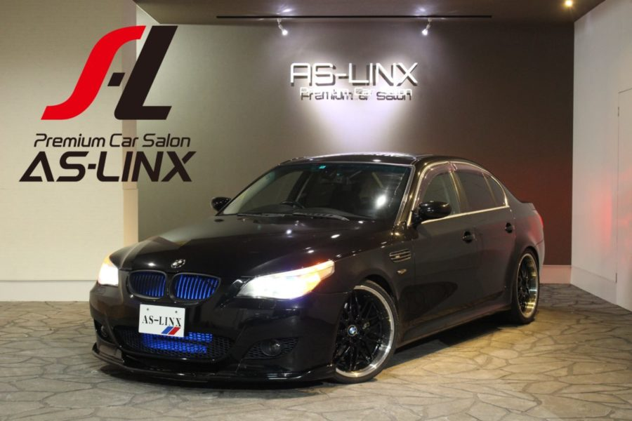 AS-LINX 本日の作業&新規御成約 BMW 530i M5仕様