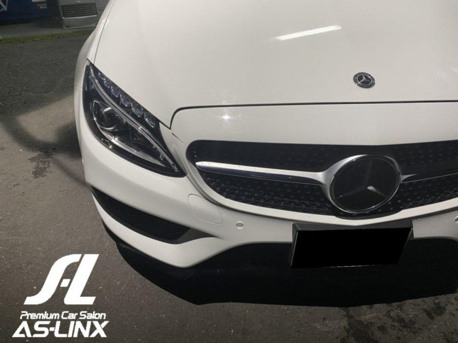 AS-LINX 本日の出来事・MercedesBenz C180 納車