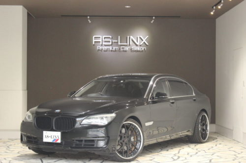 BMW 750Li ハイパーフォージド22AW リアセパレートシート