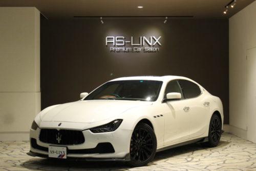 Maserati Ghibli カーボン調エアロ 正規ディーラー車